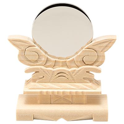 神鏡(台付)  1.5寸 kami0201-01
