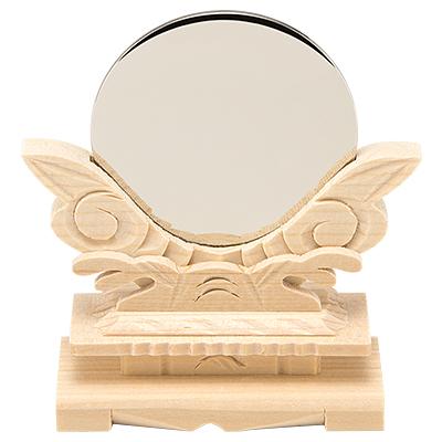神鏡(台付)  2寸 kami0201-02