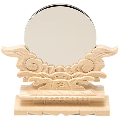 神鏡(台付)  2.5寸 kami0201-03