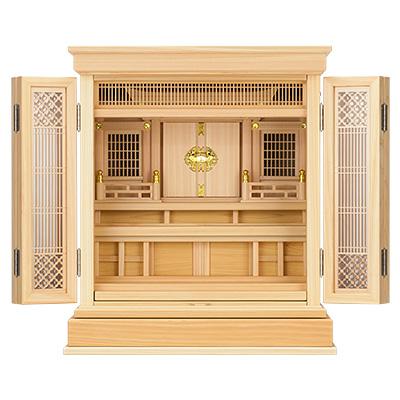 祖霊舎(神徒壇) 上置型20号(杜印) kami0404