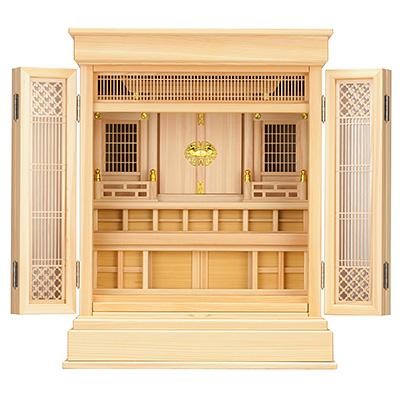 祖霊舎(神徒壇) 上置型23号(杜印) kami0407