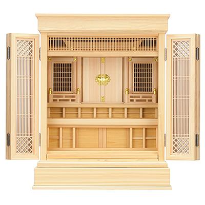 祖霊舎(神徒壇) 上置型25号(杜印) kami0409