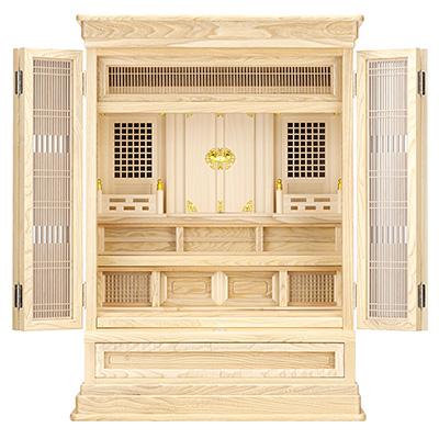 祖霊舎(神徒壇) 上置型30号(山印) kami0411