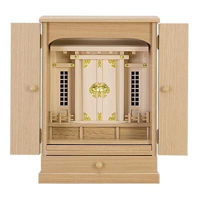 家具調神徒壇(祖霊舎) 上置き型18号 kami0431-01