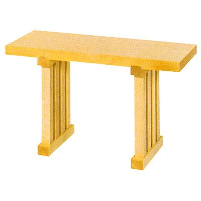 八足台(八脚案)(足固定) 高さ1尺6寸5分 × 巾2尺 kami0434-02