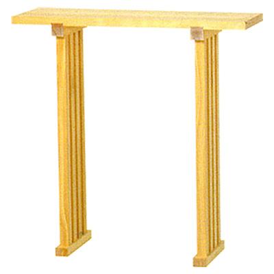 八足台(八脚案)(足蟻溝) 高さ2尺5寸 × 巾2尺5寸 kami0435-01