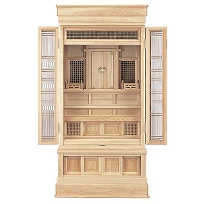 祖霊舎(神徒壇) 地袋付型45号(山印) kami0437