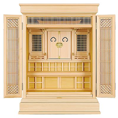 祖霊舎(神徒壇) 上置型30号(杜印) kami0439