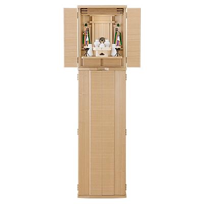 立ちモダン祖霊舎(神徒壇) やくも 55号 神具セット付き kami0480-2