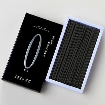 ご家庭用お線香 ZERO(ゼロ)香料 黒 中箱