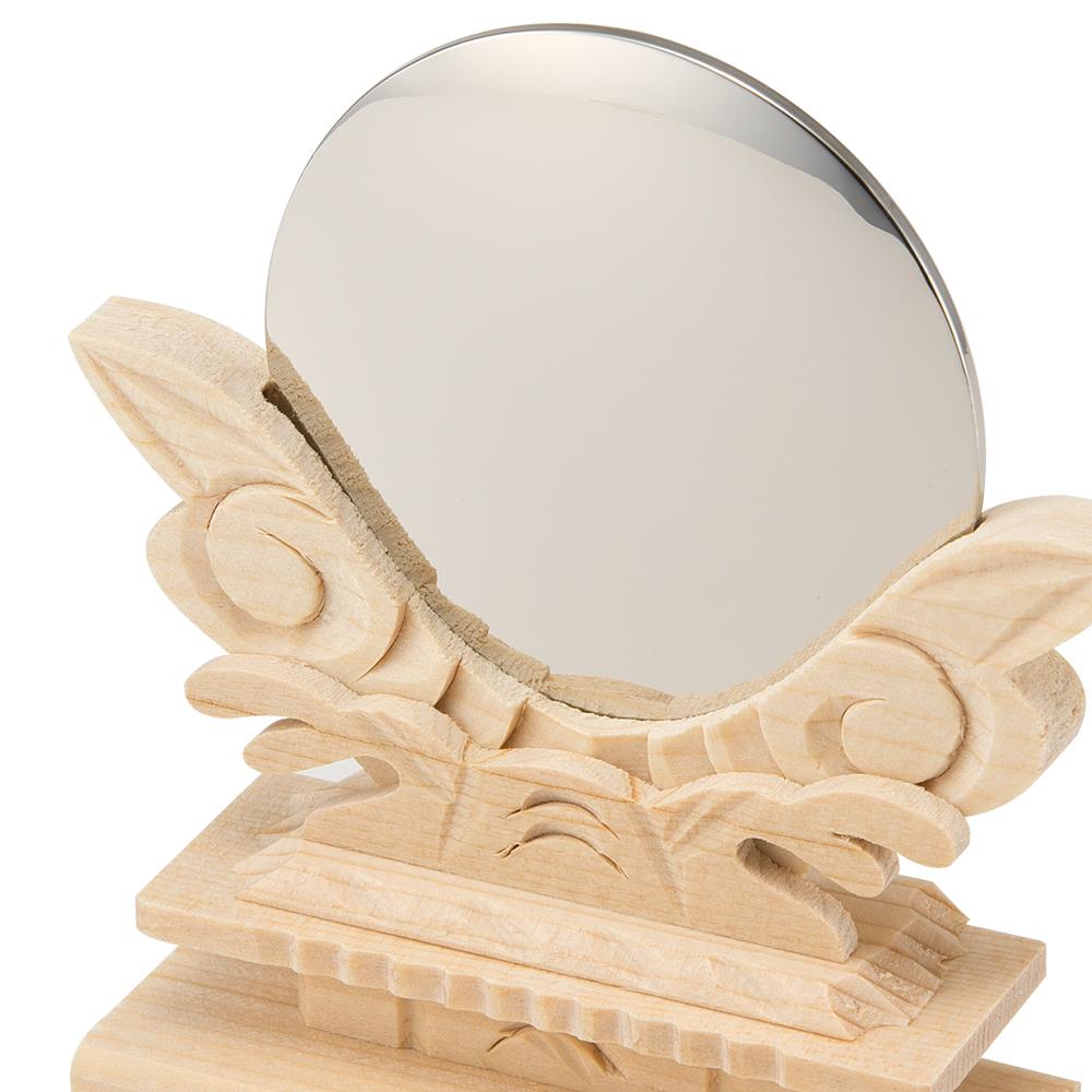 神鏡(台付) 2寸