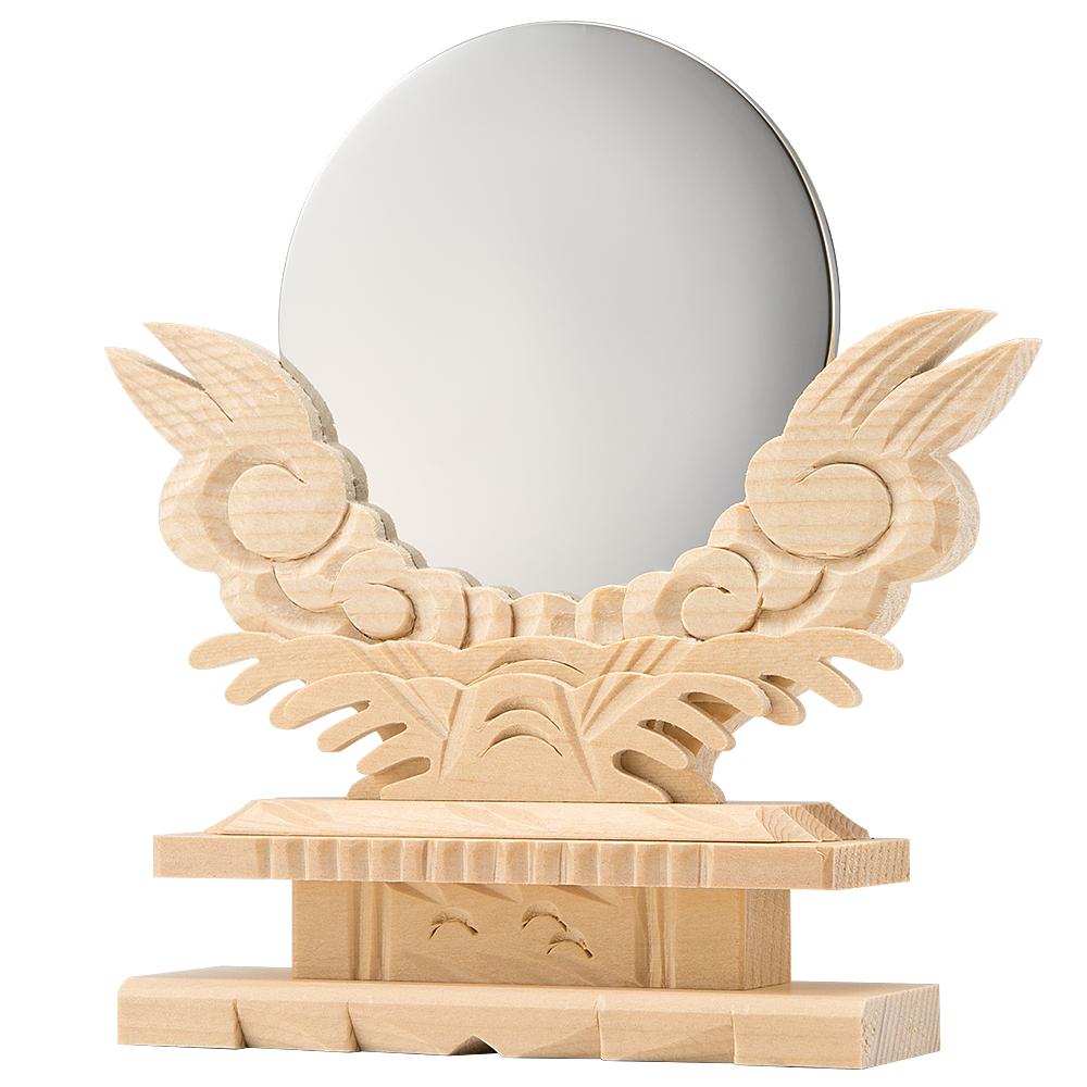 神鏡(台付) 3寸