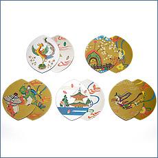 散華(散花) 五種柄両面金銀刷(100枚セット)