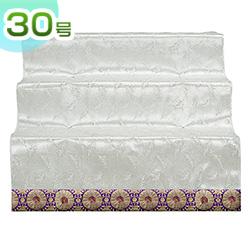 盆棚(精霊棚)・お盆用スチール祭壇 白布付き30号3段 6833-1