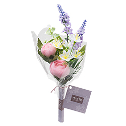 【仏壇用の仏花・造花】千の花(ピンク) S-14