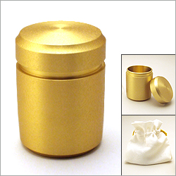 ミニ骨壷 なごみゴールド