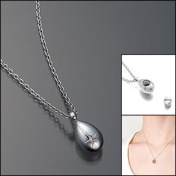 遺骨ペンダント(Soul Jewelry)【プチウフ】シルバー925・ダイヤモンド