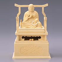弘法大師 白木製
