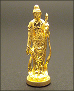 純金製ミニ仏像 聖観世音菩薩