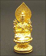 純金製ミニ仏像 千手観世音菩薩