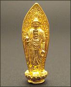 純金製ミニ仏像 阿弥陀如来