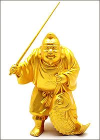開運招福七福神・恵比寿