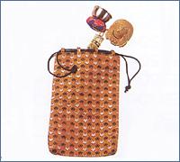 印金木魚セット用金襴袋