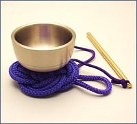 袖印金 紫紐(携帯用おリン)