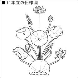 【寺院用】常花 木製 本金箔(一対)