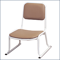 本堂用お詣り椅子 SH-260 (スチールパイプ製)