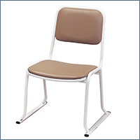本堂用お詣り椅子 SH-350 (スチールパイプ製)