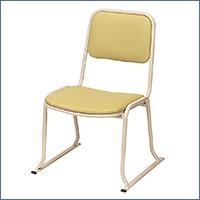 本堂用お詣り椅子 AL-350 軽量(アルミ製)