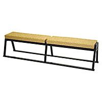 四人掛椅子(本堂用長椅子)(木製)