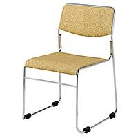 会館用椅子 連結式(スチールパイプ製)