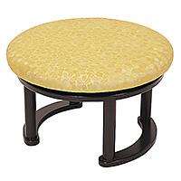 丸型回転式講話椅子 R-606(木製)
