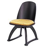 背付回転式講話椅子 R-605(木製)
