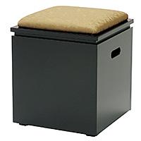 箱型収納椅子 R-608(木製)