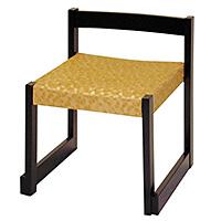 背低お詣り椅子 WR350F(木製)