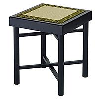 折畳式組立椅子 黒塗(木製)