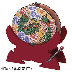 懺法太鼓(せんぼうだいこ)置台 朱塗り