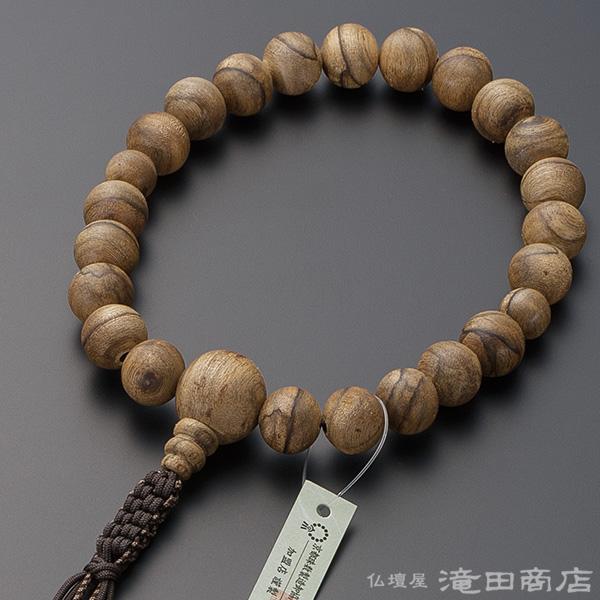 浄土真宗用本式数珠【男性用】 極上 沈香(じんこう) 22玉 【1点モノ】