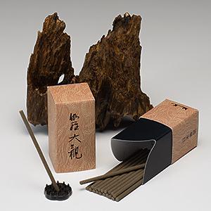 お線香 伽羅大観 「伽羅の香り」 スティック ミニ寸 20本入り(お試しサイズ)