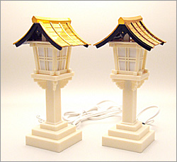 春日灯篭(銅屋根) (一対)
