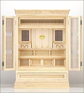 祖霊舎(神徒壇) 上置型30号(山印)