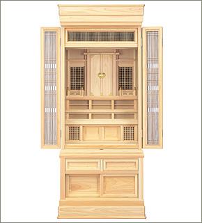 祖霊舎(神徒壇) 台付型53号(山印)