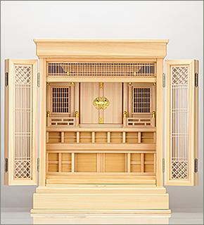 祖霊舎(神徒壇) 上置型23号(杜印)