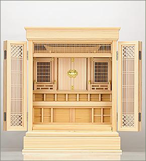 祖霊舎(神徒壇) 上置型25号(杜印)