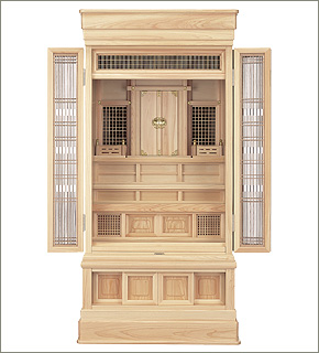 祖霊舎(神徒壇) 地袋付型45号(山印)