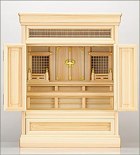 祖霊舎(神徒壇) 上置型25号(山印)