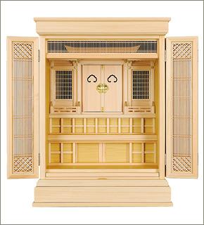 祖霊舎(神徒壇) 上置型30号(杜印)